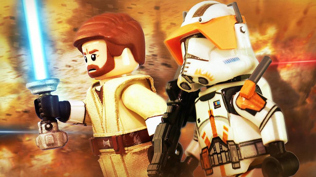 LEGO Star Wars: The Clone Wars - AV Figures Commander Cody