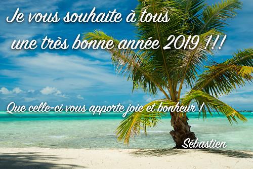 Bonne année 2019 | by Sébastien Lallemand