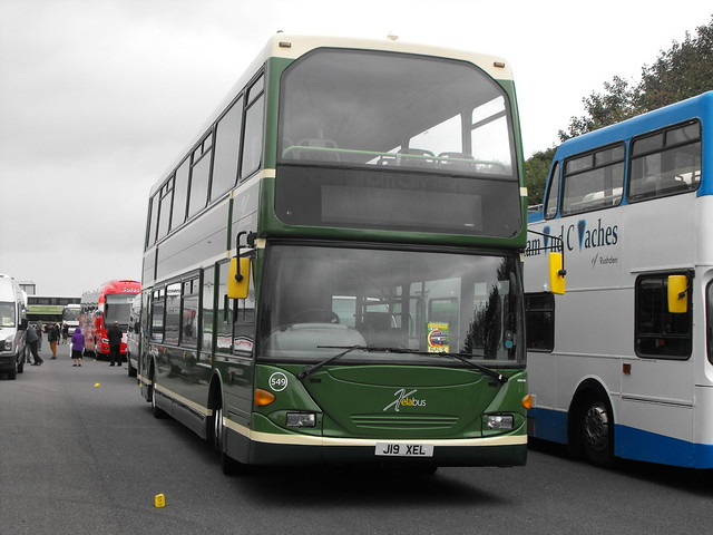 549, J19 XEL, Scania N94UD, East Lancs Body (H51-39F), 2004 (Ex-Nott) (t.2018) (1)