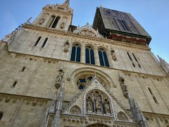 Croatie, Zagreb, Cathédrale de l'Assomption-de-la-Vierge-Marie (Katedrala Marijina Uznesenja)
