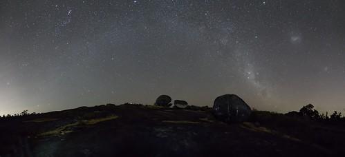 stars panorama longexposure nightshots nightsky westernaustralia australia au milkywaybow