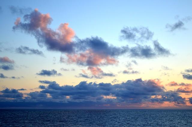 Norwegian Sea Sunset
