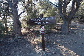 0741 Telescope Peak Trail sign at the trailhead - 7 miles to the summit | by _JFR_