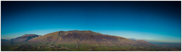 Blencathra Panorama - Explore No.43 - 21.01.2019