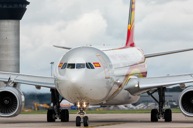 B-1020 | Airbus A330-343E | Hainan Airlines | Manchester | September 2018
