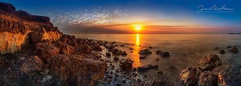 indentedhead sunrise bellarinepeninsula bellarine geelong longexposure australia sonya7riii panorama panoramic stitched capturingthecoast