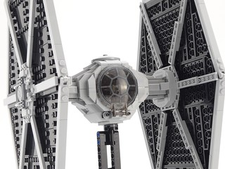 Imperial TIE Fighter Lego MOC / MOD | by barneius industries