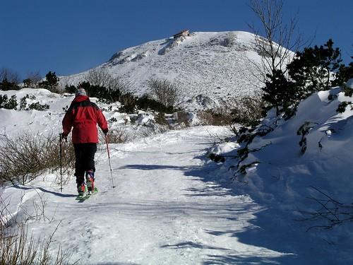 slovenia slovenija outdoors skitouring tourskiing mountain landscape winter