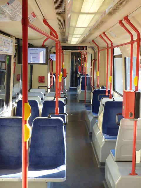 Nuremberg tram interior