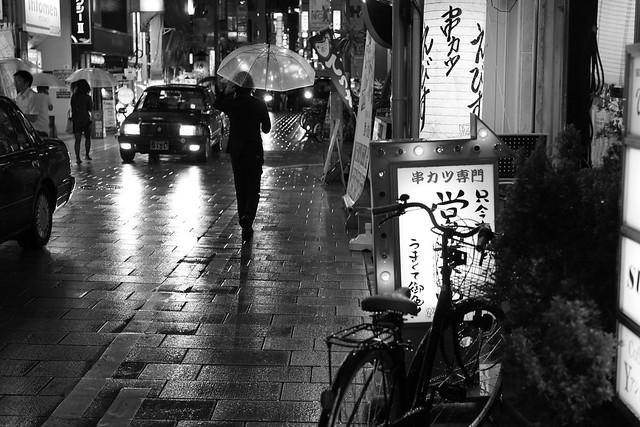 rain. night.