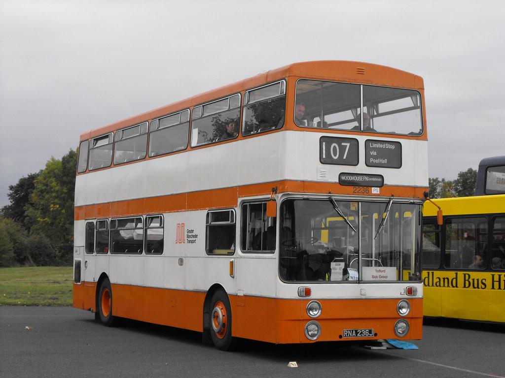 2236, RNA 236J, Daimler Fleetline CRG 6LXB, Park Royal Body (H47-29D), 1971 (t.2018)