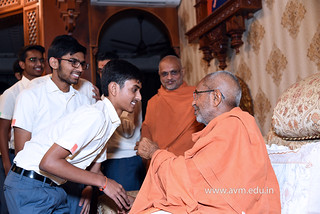 Std-10-11-12-visit-to-Haridham-for-Swamishree's-Blessings-(31) | by Atmiya Vidya Mandir