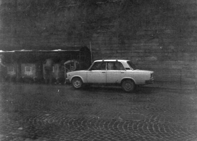 A daily car in Lviv