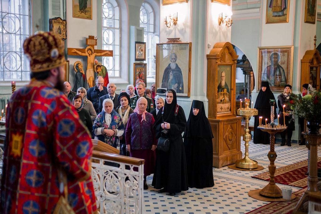 8 ноября 2018, Литургия в Иоанновском монастыре / 8 November 2018, Liturgy in the Ioannovsky Convent