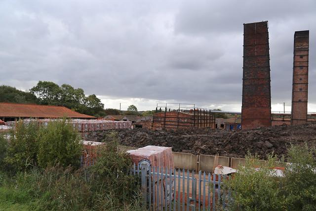 Brick works at Barton-upon-Humber