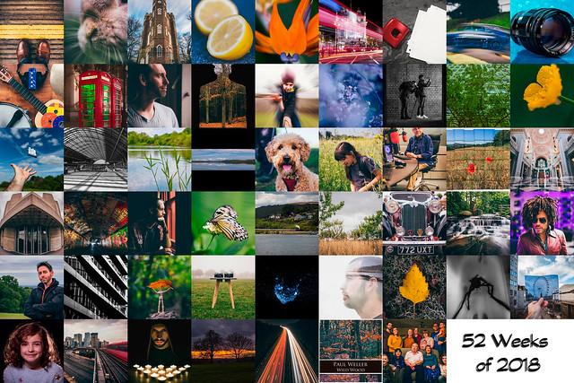 52 Weeks Collage