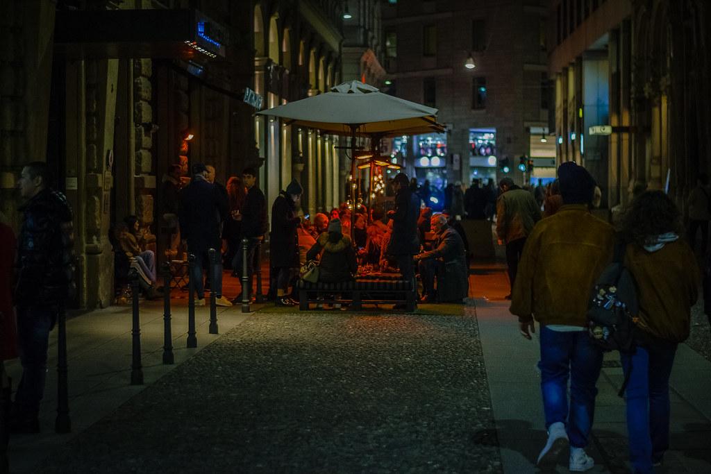 вечером в Милане.  Milan, Lombardy.