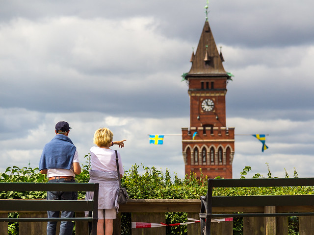 Sweden - Helsingborg - Town Hall Tower