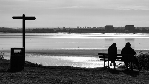 blackwhite bnw blackandwhite riversevern england places people photographers outdoors lovebw light landscape monochrome nature travel signs seating shadows reflections silhouette