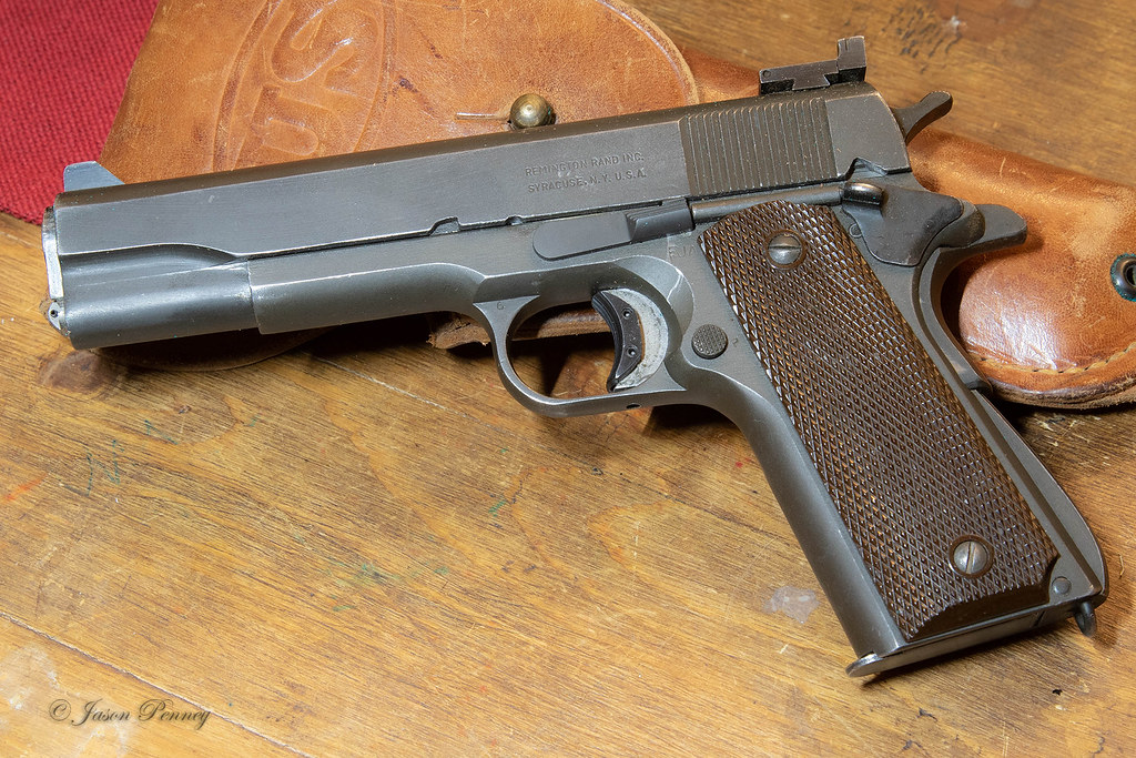 1945 Remington-Rand M 1911 A1 Army | So I found a deal on an