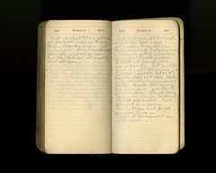 Diary entry for 11 November 1918, from the diary of Louis Llewyllen Lent