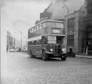 AEC Regent III-Roe-1950-Hebble 46 & 246-BJX 57-JT-St.James Rd