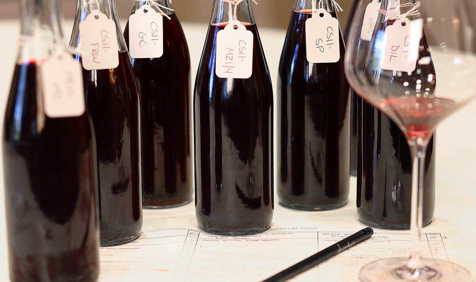 How to make wine: blending in Jordan winemaking
