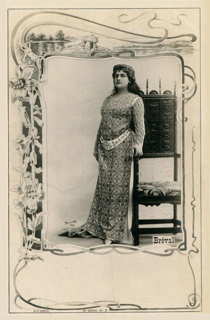 Lucienne Bréval: