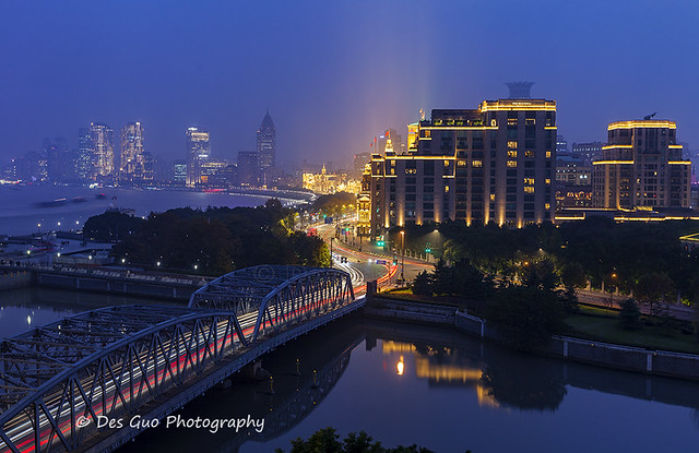 The Bund at Early Morning, Shanghai