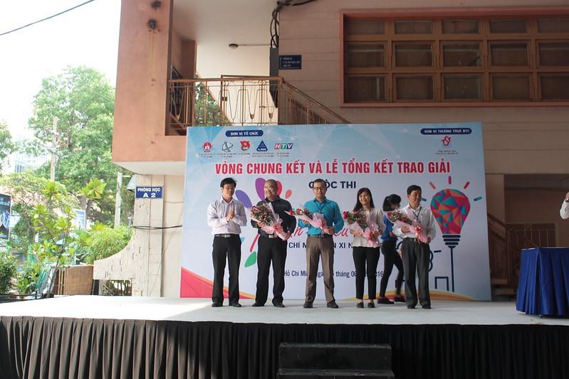Cuộc thi Sáng tạo thanh thiếu nhi TP. HCM lần 11 năm 2016