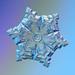 Real snowflake by Olga Sytina & Alexey Kljatov