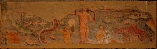 Rome / Ostia Antica / Spa Seven Scholars painting