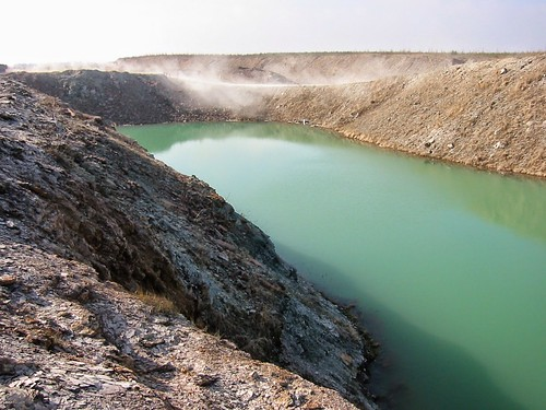 Fosforiidimaa / Phosphate rock mining area in Estonia | by Retked