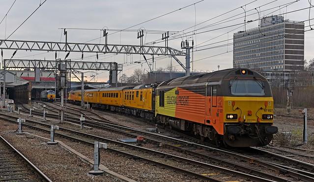 Colas 67s on Test Train