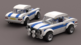Ford Escort RS1600 MOC 1 | by dazzz99