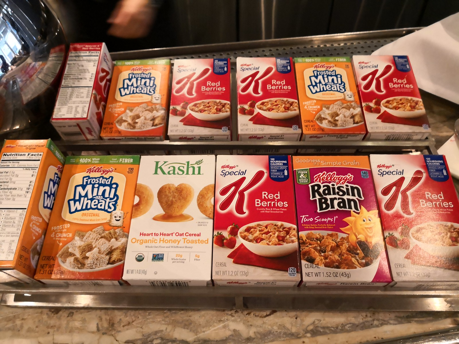 Cereal selection