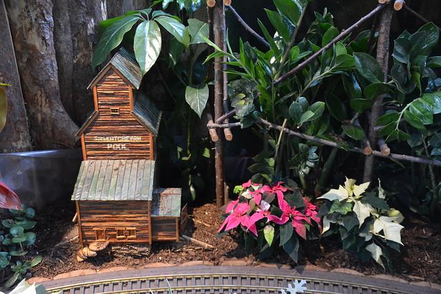 Botanical Train Display, Royal Botanical Gardens, Hamilton, ON