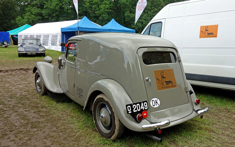 Citroën Traction Avant 11 Sport 450 kg Varebil - 1950 ...