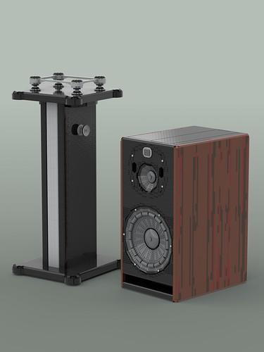 Zaor Isostand MkII & Focal Trio11 BE Speaker
