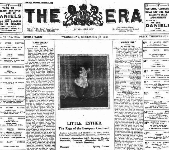 Baby Esther Jones (1930)