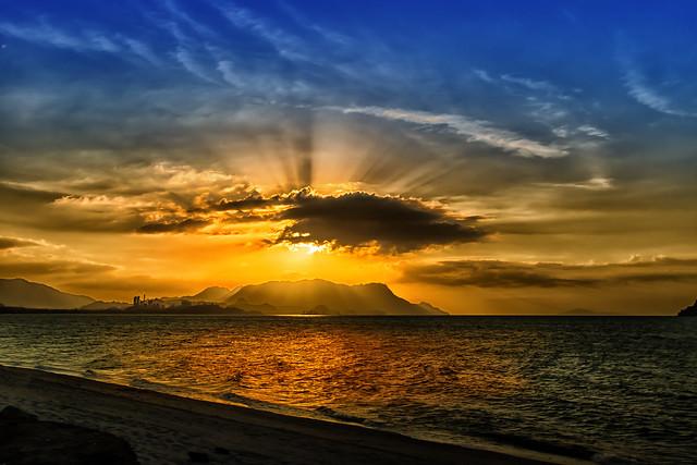 Sunset Andaman Sea - Langkawi Island