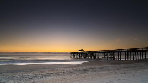 fernandina fernandinabeach ameliaisland florida sunrise dawn ocean water beach pier silhouette waves sand sony sonyalpha a7riii 24105 24105mmf4g 24105mm