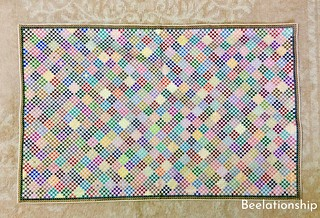 Mosaic Pattern Mat | by Beelationship Embroidery Studio