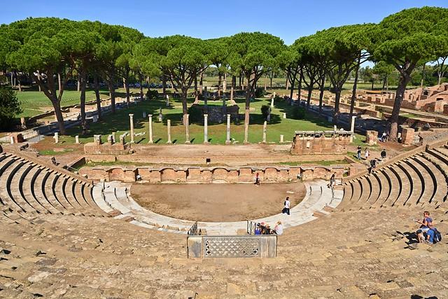 Rome / Ostia Antica / Teatro di Ostia /  Ostia  Theatre