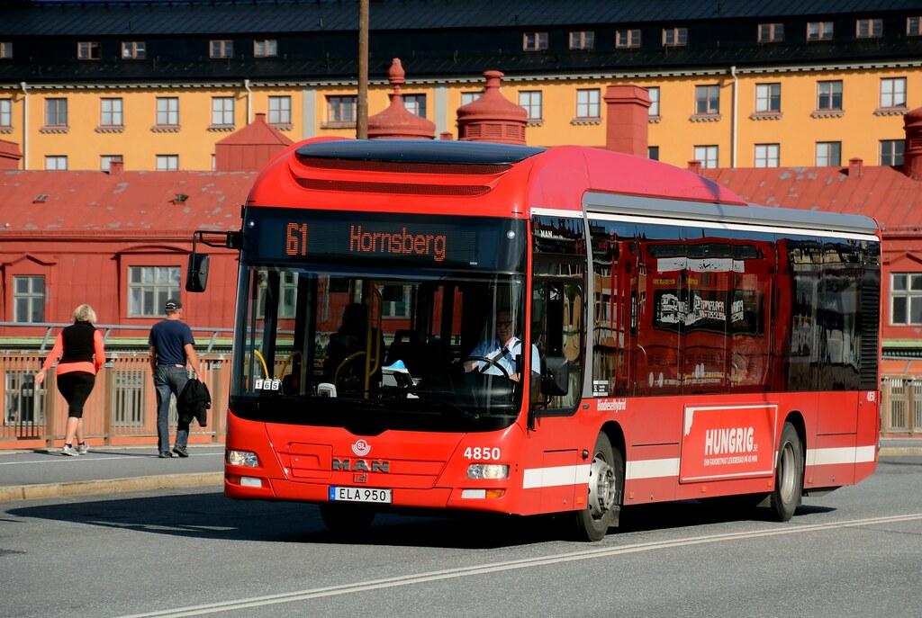 MAN Hybrid Bus in Stockholm, Sweden, September 2017   Flickr