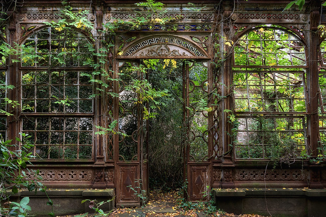 The steampunk greenhouse