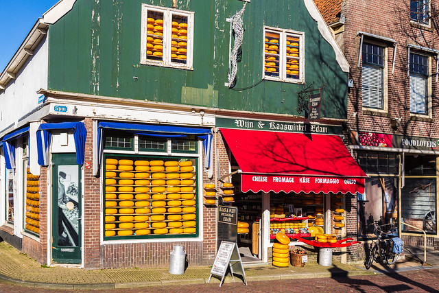 Edam - Cheese shop