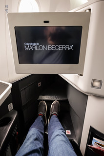 Inflight screen | by A. Wee