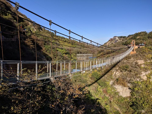 Pedestrian suspension bridge | by Walter M Hagemann