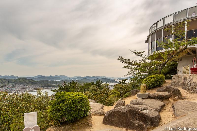 Mirador del parque Senkoji